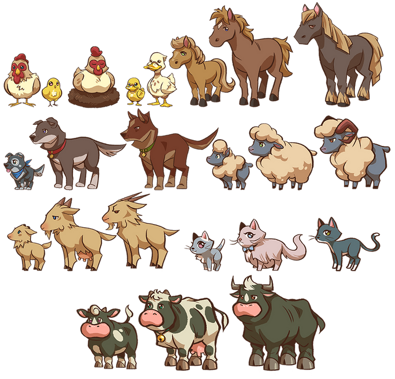 Game Items - Farm Animals
