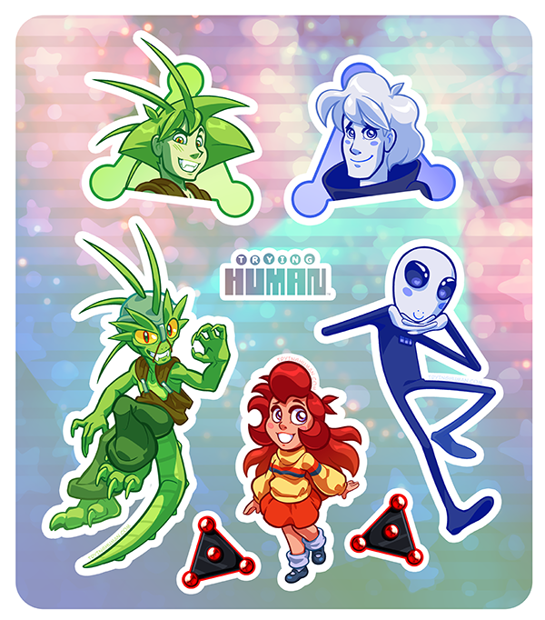 TH - Stickers by IntroducingEmy