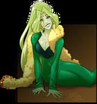 TH - Green Satin