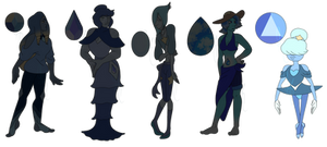 Blue Gem Auctions! [1/5 OPEN] by ghostmalone