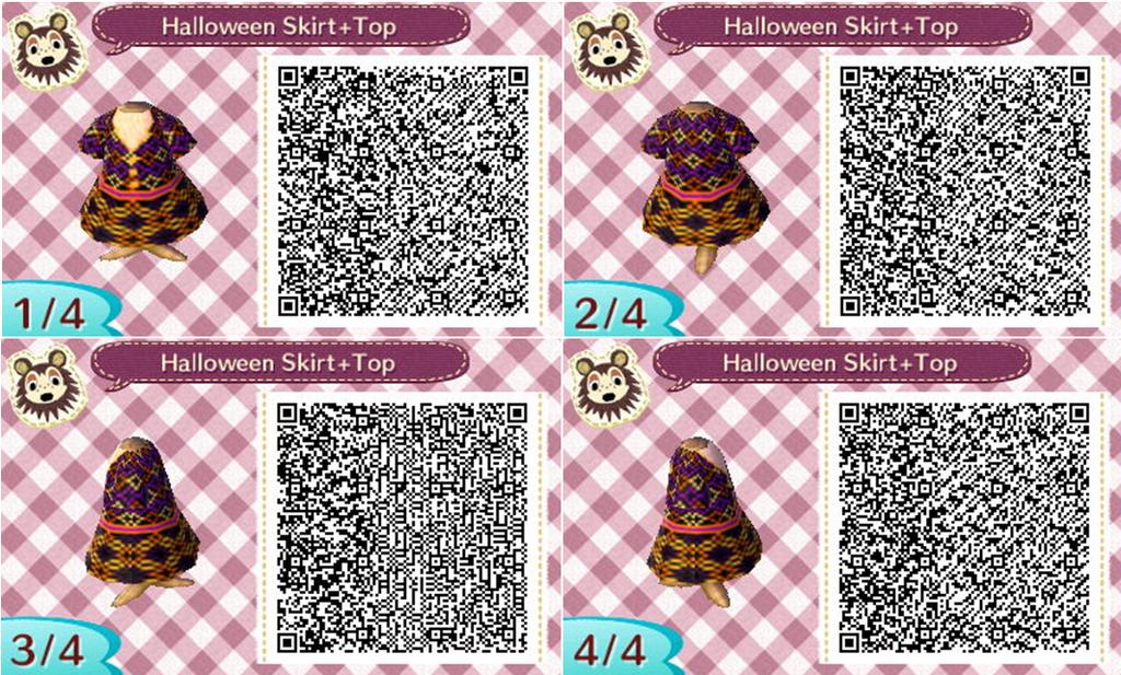 Animal Crossing New Leaf - Halloween Skirt + Top by NiGHTS-San on ...