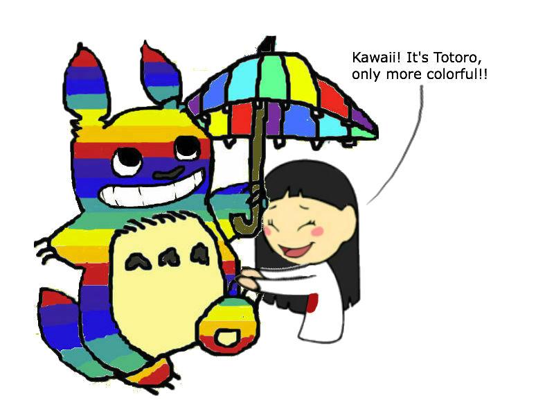 Yaoi Totoro and Japan by YaoiTotoro