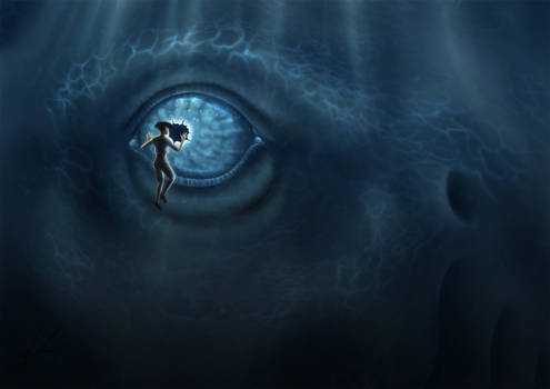 Meeting Blue Dragon
