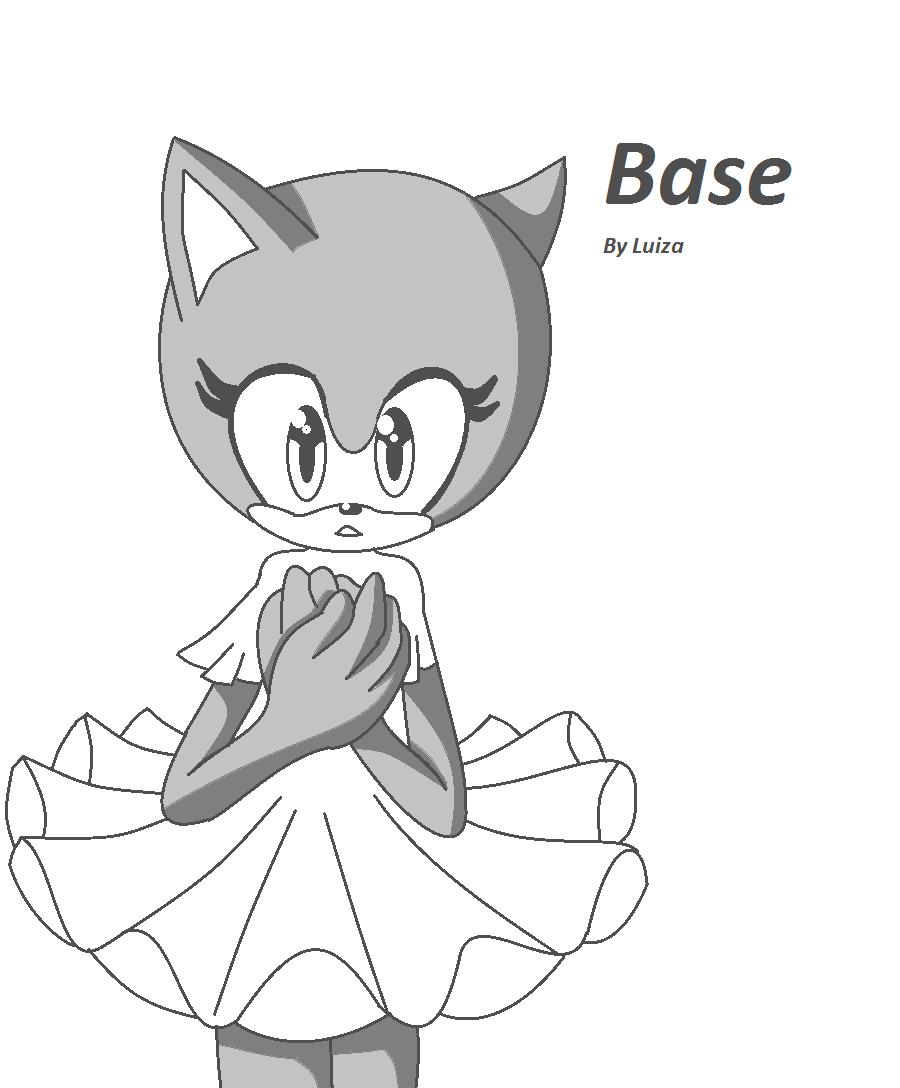sonic girl base