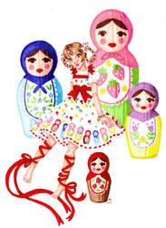 Sweet Matryoshka Promo Art
