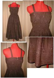 Brown Mori Dress