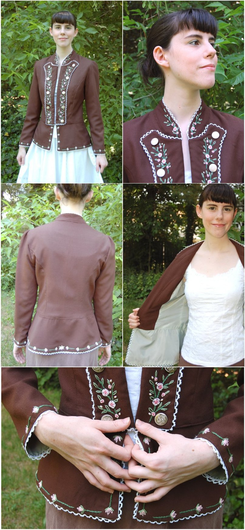 Rosebud Jacket by sakurafairy