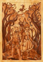 Henrich und Gretchen by TheRabbitFollower