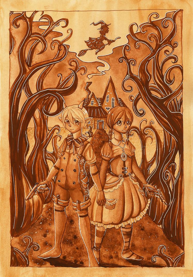 Henrich und Gretchen by Following-The-Rabbit
