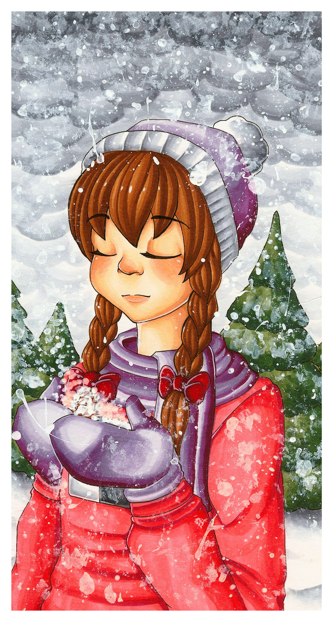 Snowy Dream by Following-The-Rabbit
