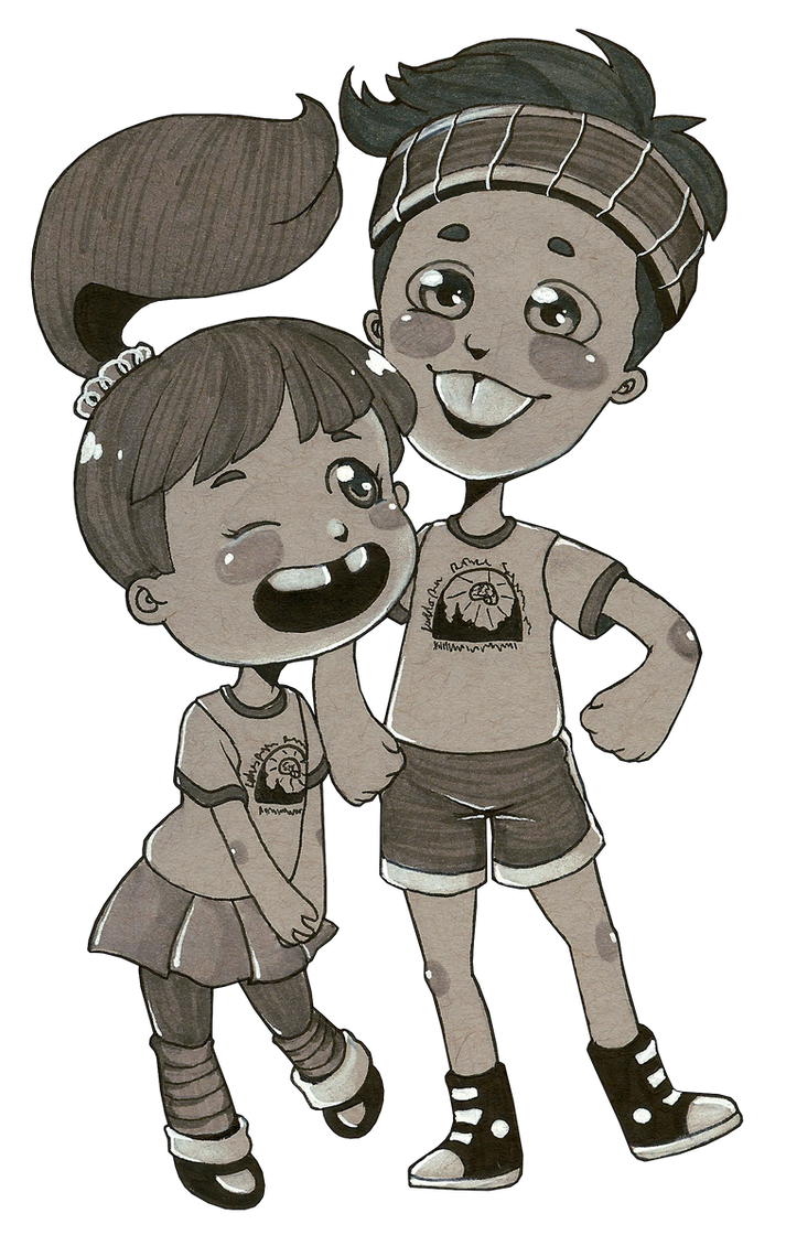 Crystal and Clem by Following-The-Rabbit