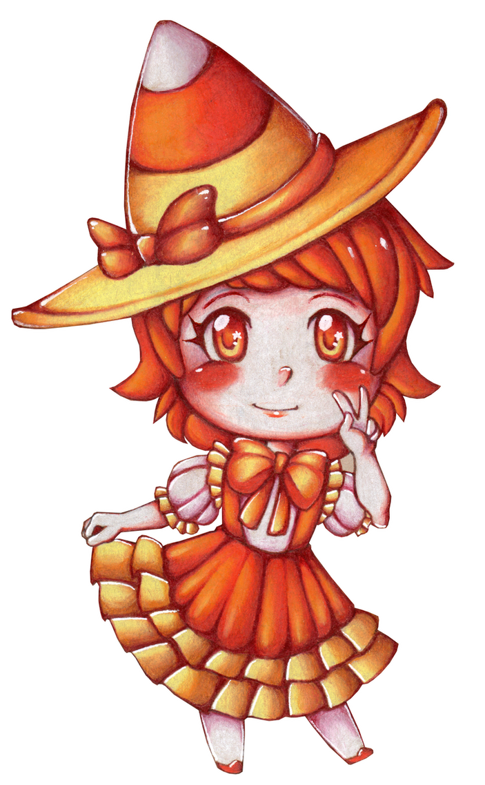 Butterscotch Candy Corn! by Following-The-Rabbit