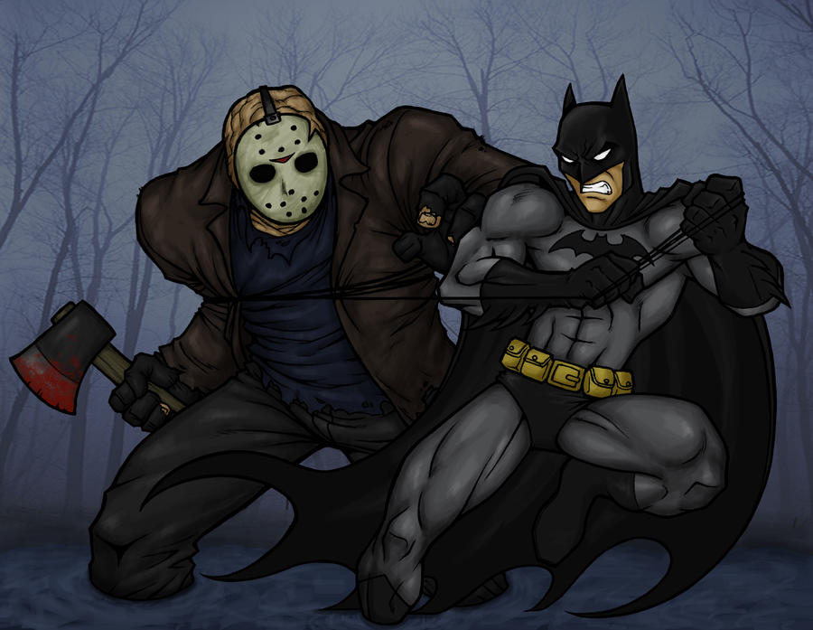 Batman V.S. Jason Voorhees by Harryreems on DeviantArt