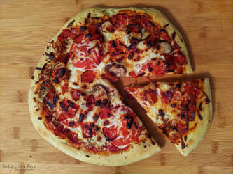 Pan Made Pizza 2