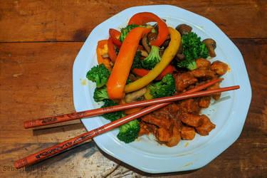 Spicy Pork  Stir Fry