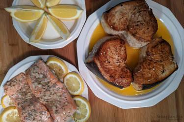 Swordfish  Salmon