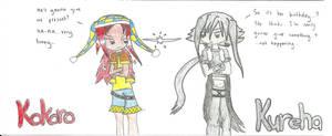 Kokoro and Kureha