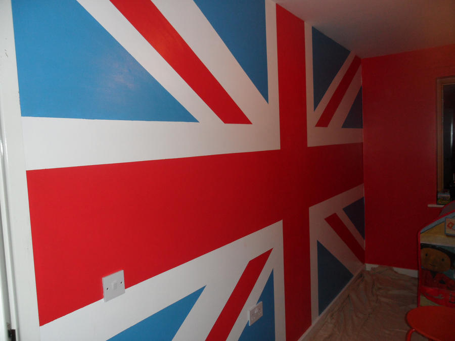 Delightful Union Jack Mural By Remrats ... Part 18