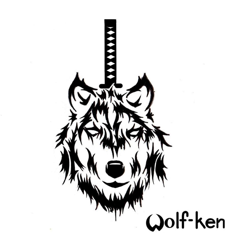 Tribal Wolf Wallpaper: Wolf Tribal By Wolf-ken On DeviantArt