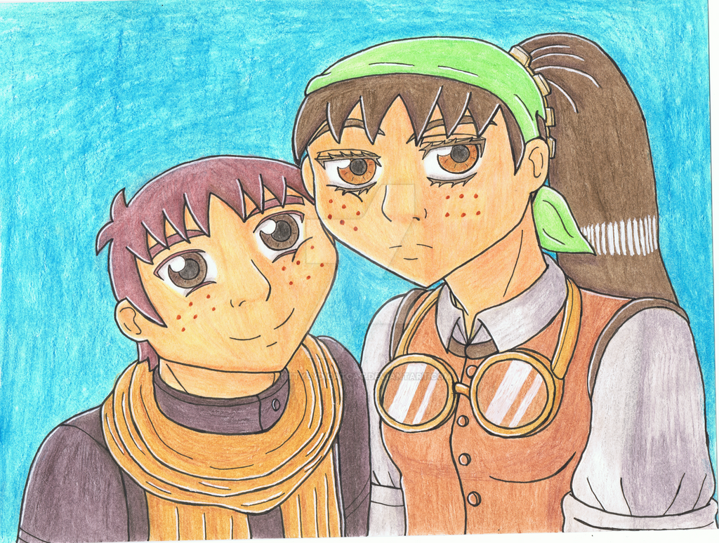 Freckled Siblings by LotzaLuv4Gaara