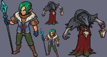 DnD chars by shadowbrand-haze