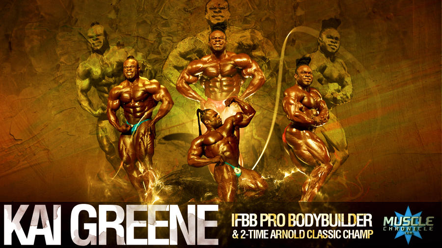 Kai greene wallpaper by musclechronicle on deviantart for Kai greene painting