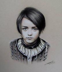 ARYA fan-art by JcBerbes