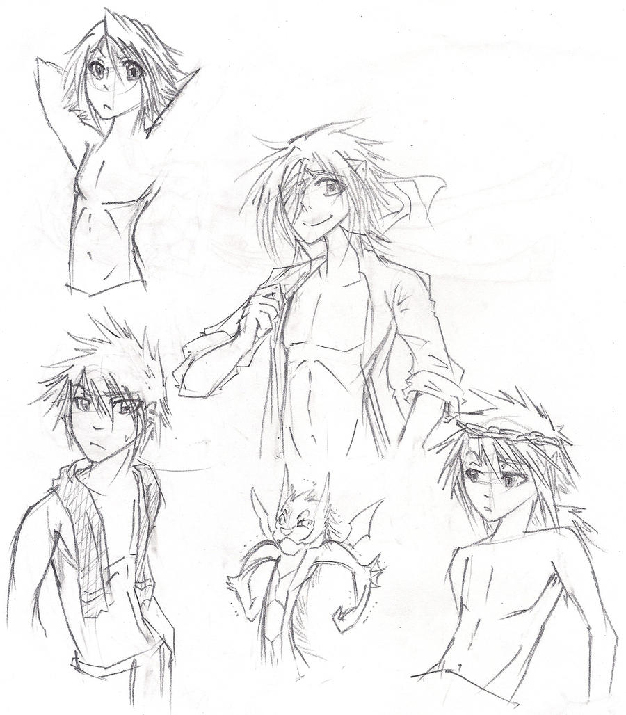 This is a photo of Impertinent Anime Abs Drawing