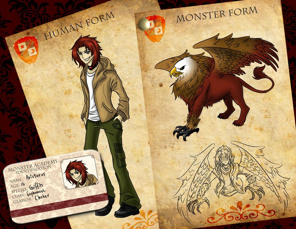 Monster Academy - Aristaeus. by Hiyonori-Yumiko