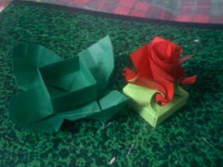 Modular Origami Magic Rose Cube Folding Instructions | 240x320