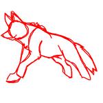 Wolf Run Cycle Test by MokiHunter