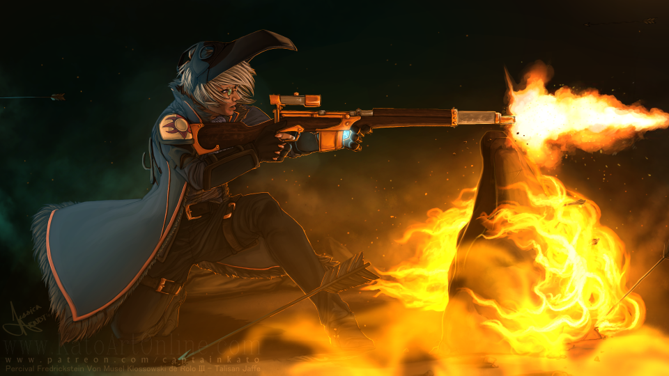 Critical Role: No Mercy Percy by CaptainKato
