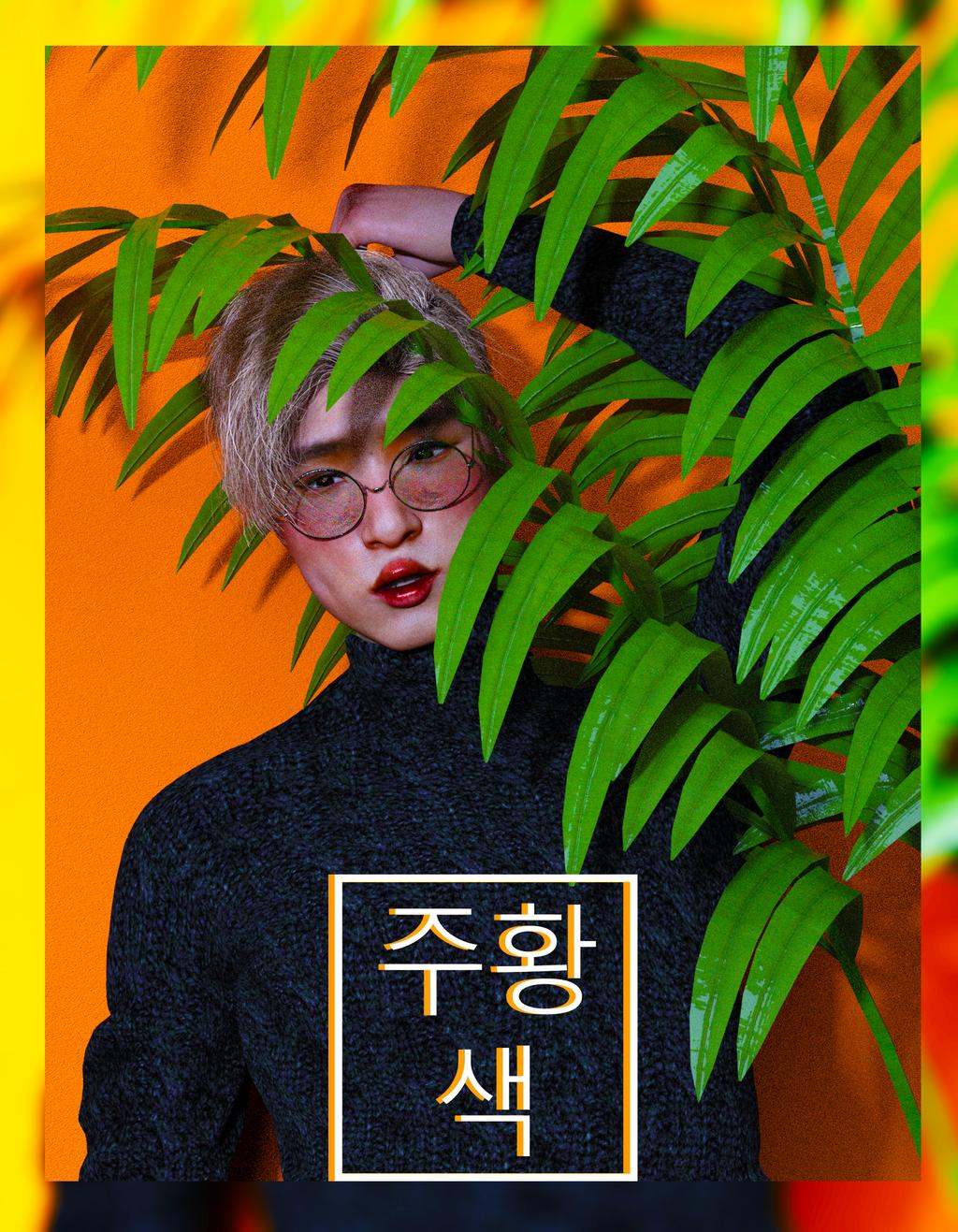 Ji Hun - Orange Concept by PattyPatCake