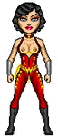 EE Wonder Girl - Donna Troy by barbarossarotbart