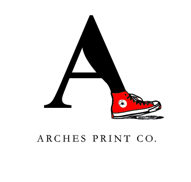 Arches Print Co. Logo by cheektocheek