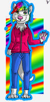 Request: Rainbow Otter