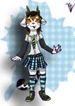 Quinn Aether: Kawaii schoolgirl version