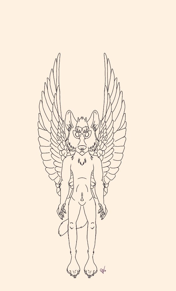 Pseudoangel of breath by WolfNightV4X1