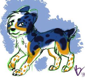 Simple doggo sketch