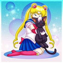 Sailor Moon by Roxysm