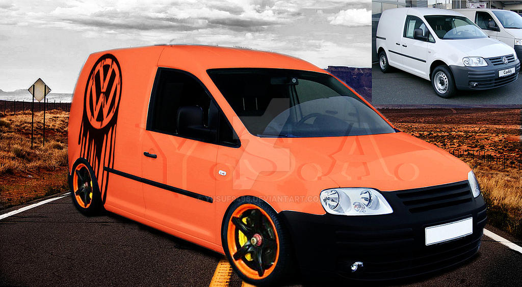 vw caddy watermark virtual tuning by yusuf9496 on deviantart. Black Bedroom Furniture Sets. Home Design Ideas