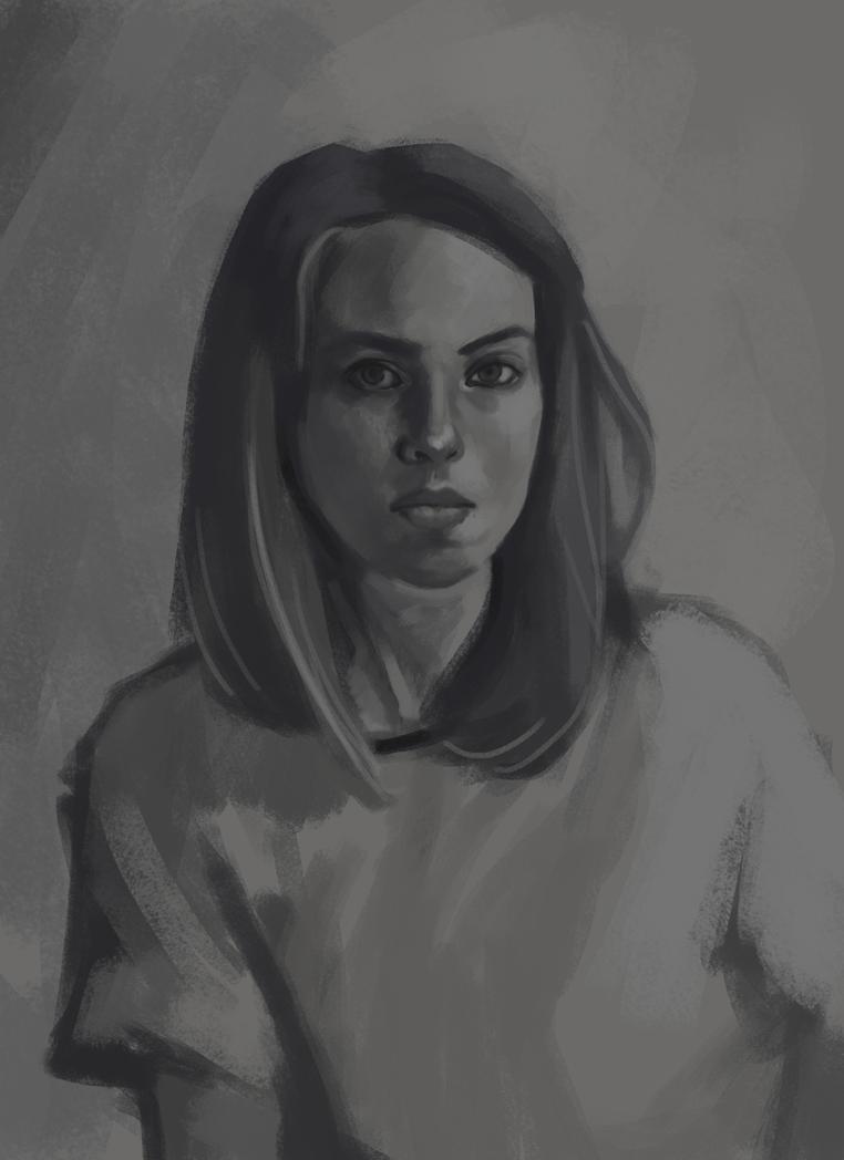 Self Portrait 2018 by crystaleyes909