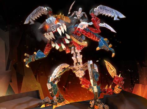 [SFM] Bionicle Heroes - Kardas Dragon + download