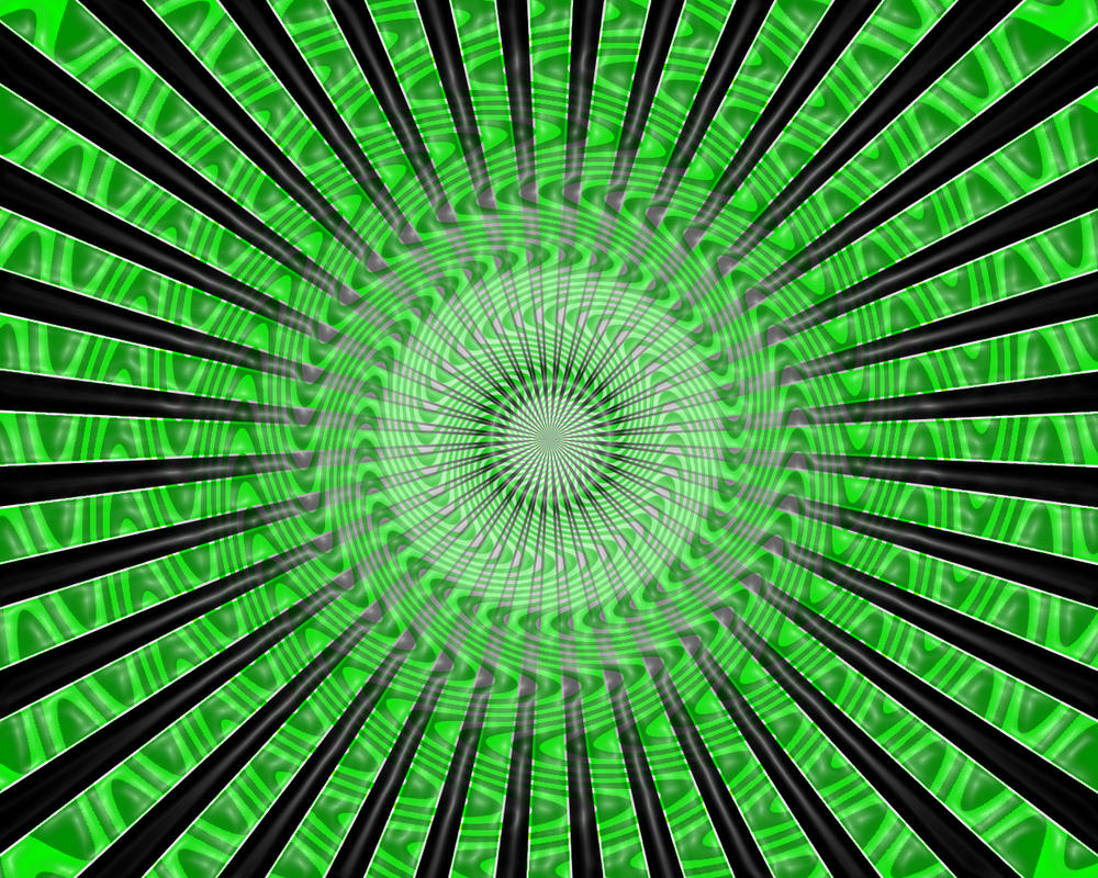 trippy green vortex by bakerzero417 on deviantart