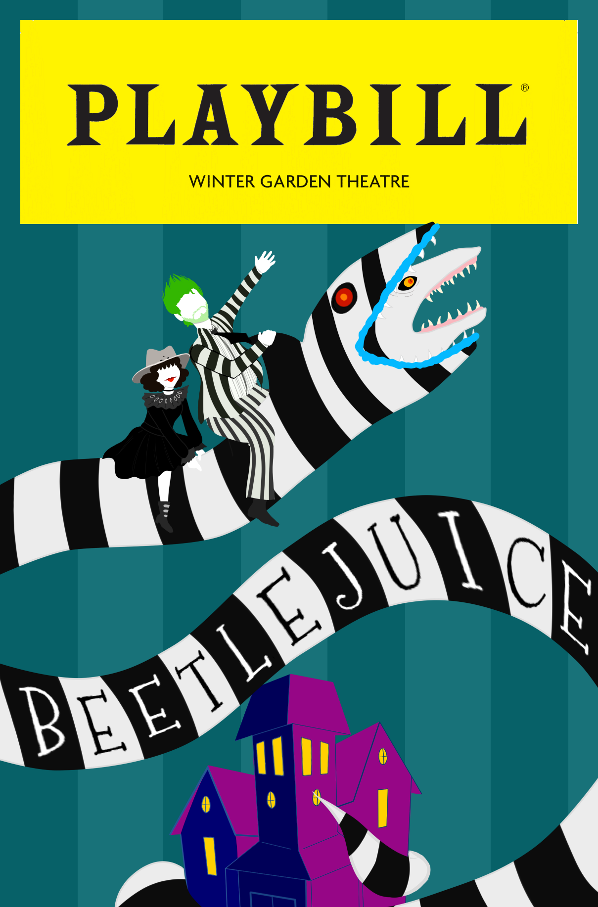 Beetlejuice Playbill Entry By Hampyhamps On Deviantart