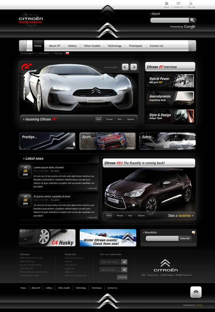 01f163ec2fceec880985afcbde80c667 Web Design Inspiration: Inspiring and Creative Web Interface Designs