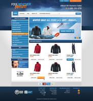 Simple e-commerce site by nonlin3