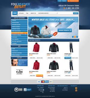 Simple e-commerce site