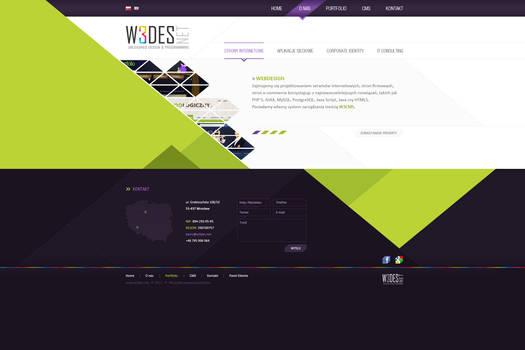 Company Web Layout
