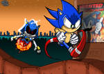 Metal Sonic vs Sonic